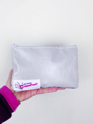 Wyatt & Jack X Coppafeel! / medium zip pouch