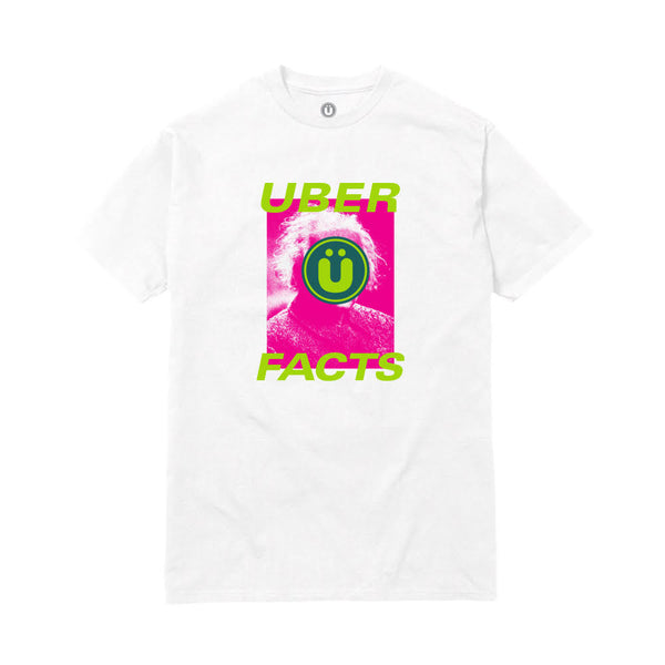 UBERFACTS TEE (WHITE)