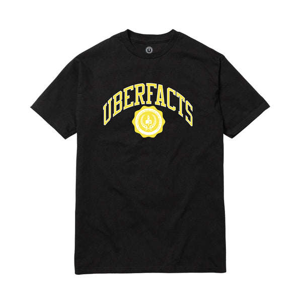 UBERFACTS UNIVERSITY TEE (BLACK)