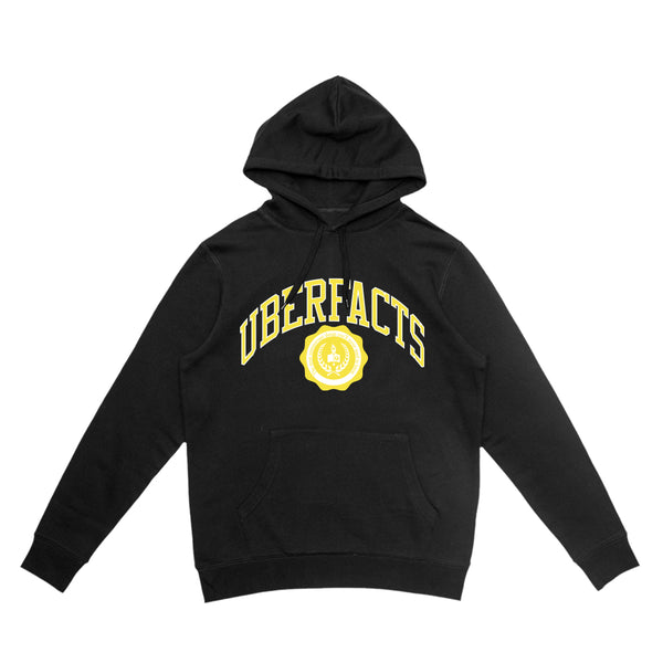 UBERFACTS UNIVERSITY HOODIE (BLACK)