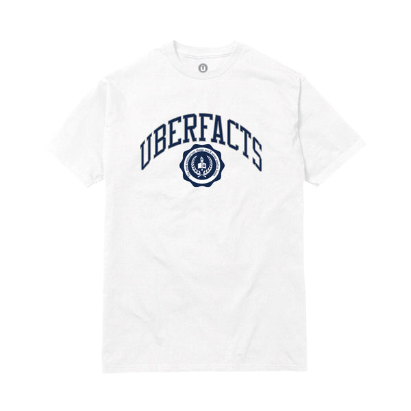 UBERFACTS UNIVERSITY TEE (WHITE)