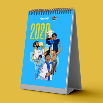 2020 Cricket Calendar by Sportwalk and The Bharat Army