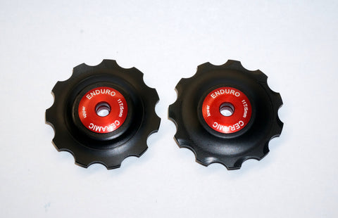 SHIMANO 10 Speed Ceramic Rear Derailleur Jockey Wheels