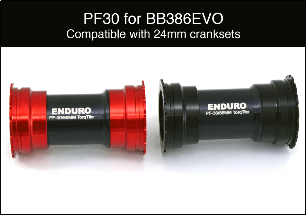 Enduro TorqTite BB PF 386EVO to 24mm