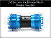 Enduro T47 for 24mm Cranks