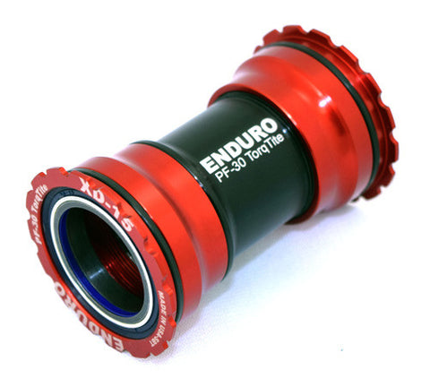 Enduro TorqTite BB PF30 A/C Steel Bearings