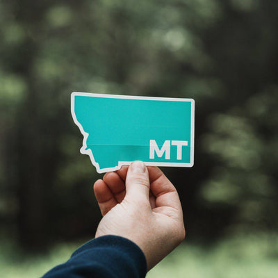 MT Sticker - MONTANA SHIRT CO.