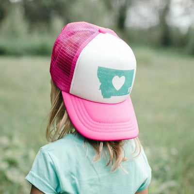 Heart Trucker Hat Youth - MONTANA SHIRT CO.