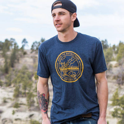 Where the Buffalo Roam - Yellowstone - MONTANA SHIRT CO.