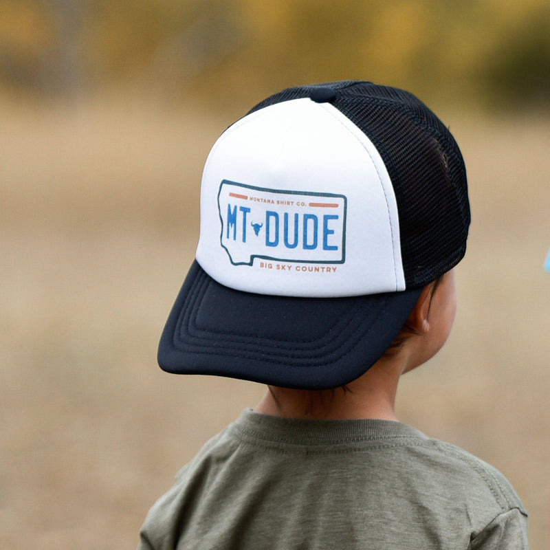 MT Trucker Hat Youth - MONTANA SHIRT CO.