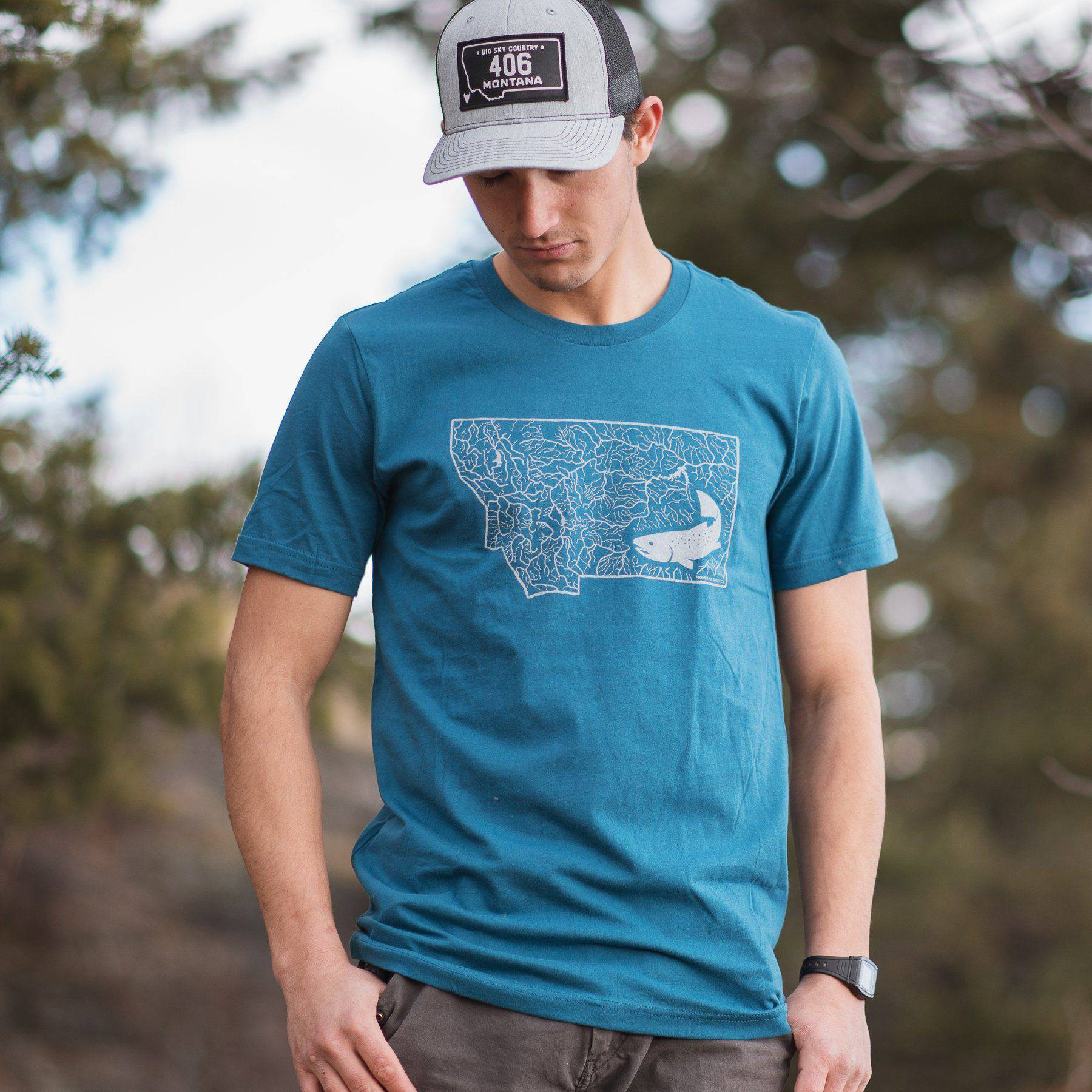 Montana Rivers - MONTANA SHIRT CO.