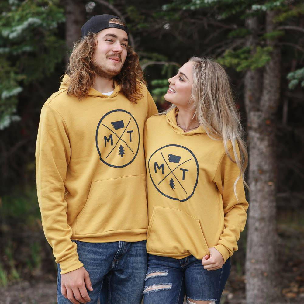 MT Circle Logo - unisex hoodie - MONTANA SHIRT CO.