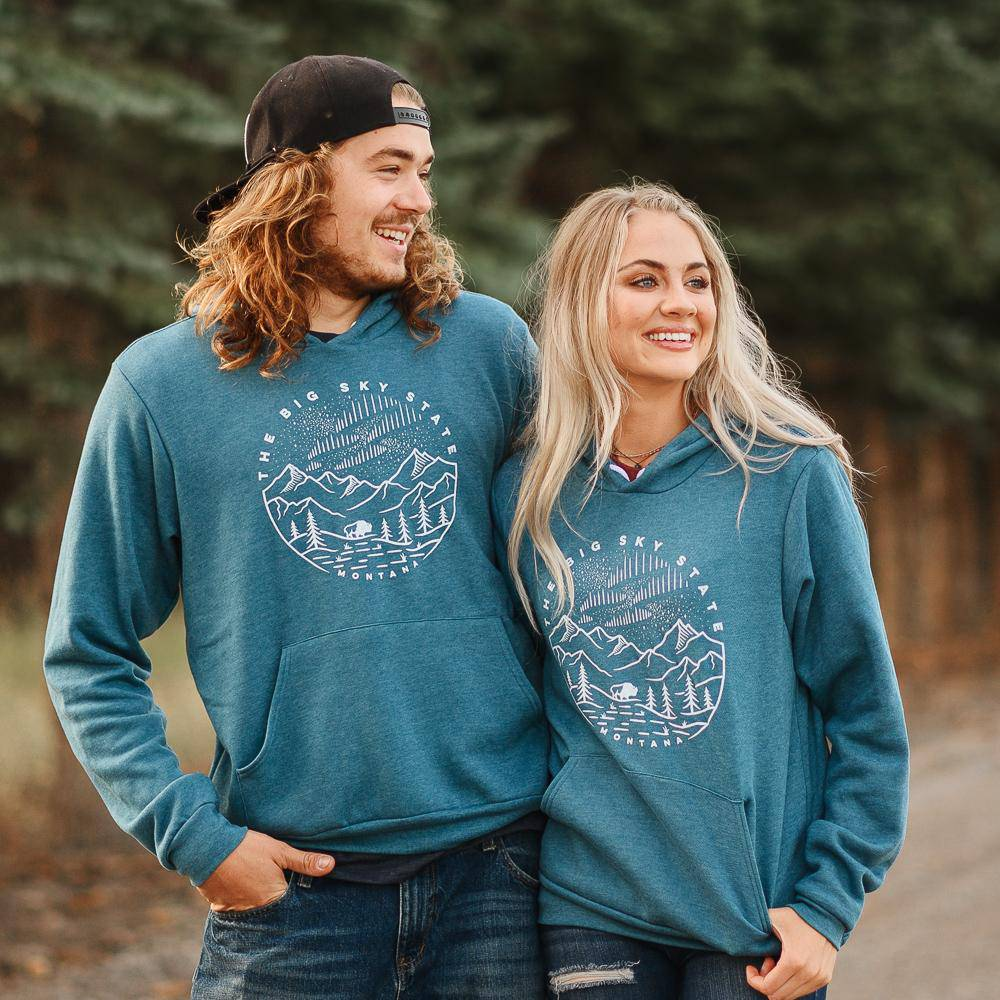 Big Sky State - unisex hoodie - MONTANA SHIRT CO.