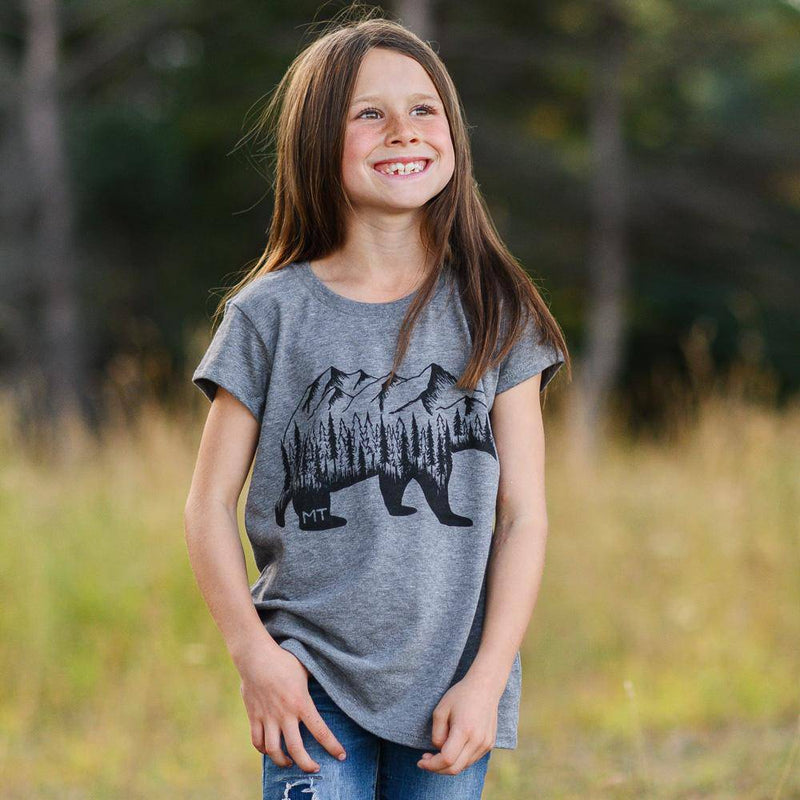 Montana Bear (girls) - MONTANA SHIRT CO.