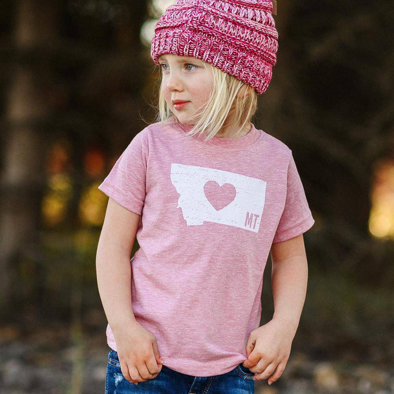 Classic Heart Toddler Tee - MONTANA SHIRT CO.