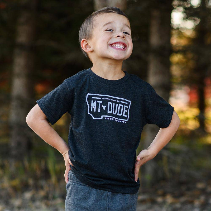 Dude License Plate Toddler - MONTANA SHIRT CO.