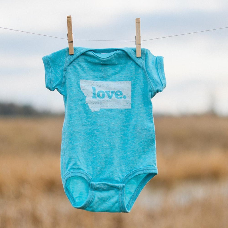 Our First Love Onesie - MONTANA SHIRT CO.