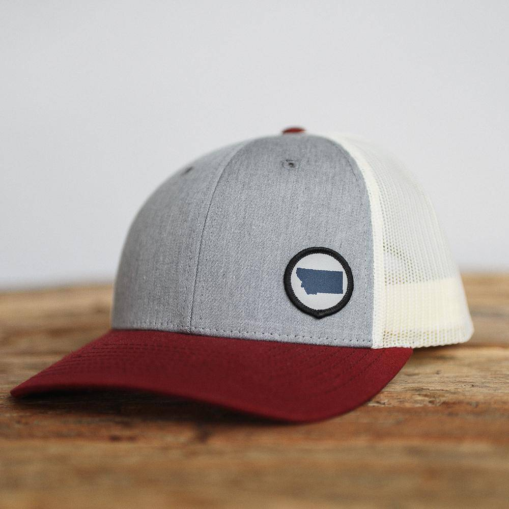 Circle Patch State Hat - MONTANA SHIRT CO.