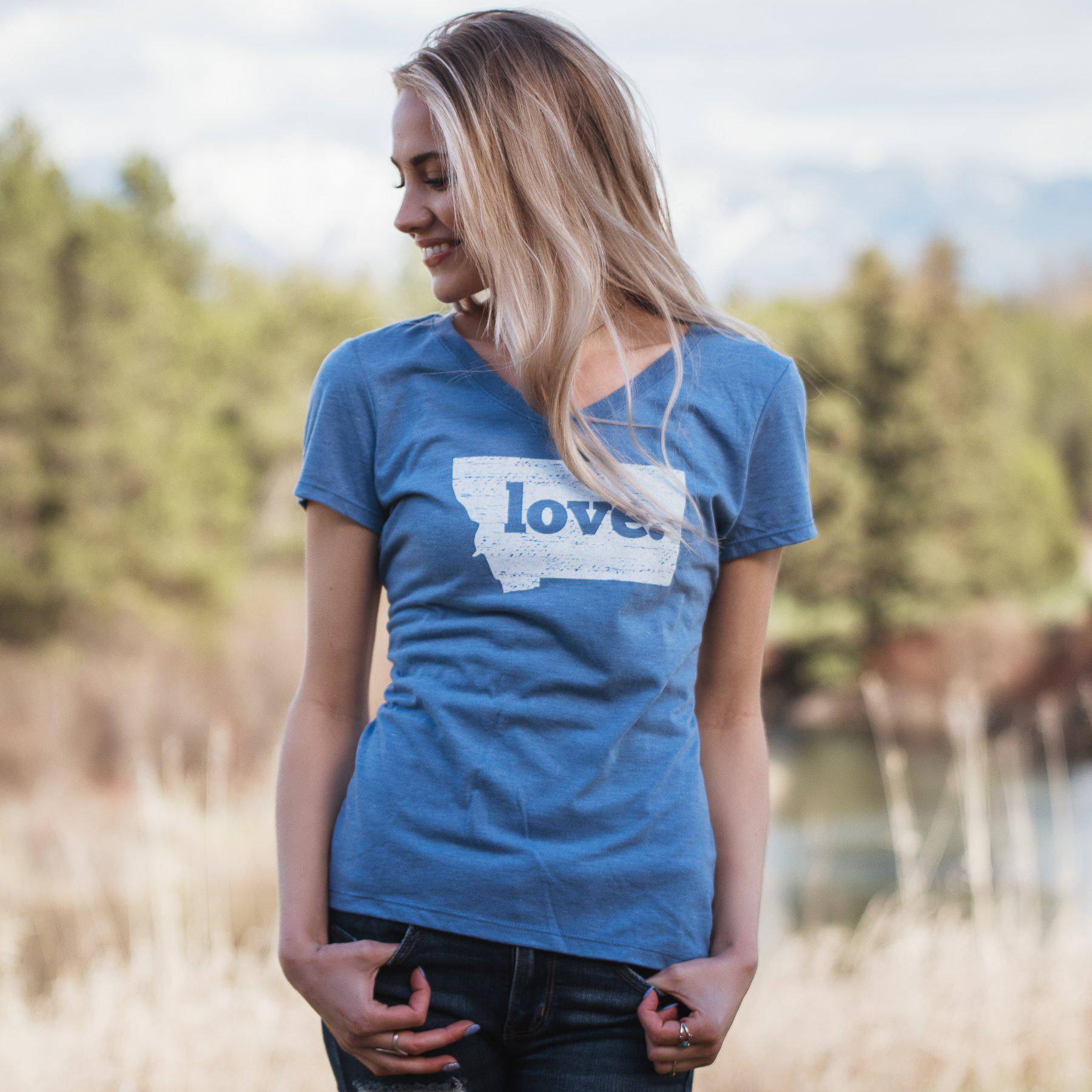 Classic Love V-Neck - MONTANA SHIRT CO.