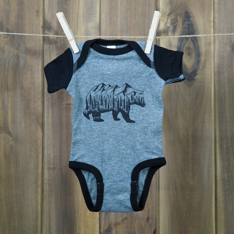 Montana Bear (onesie) - MONTANA SHIRT CO.