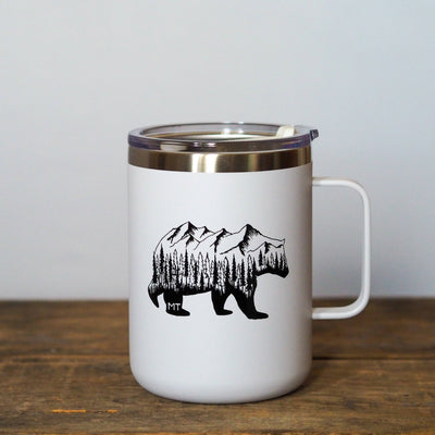 Montana Bear Tall Camp Mug - MONTANA SHIRT CO.