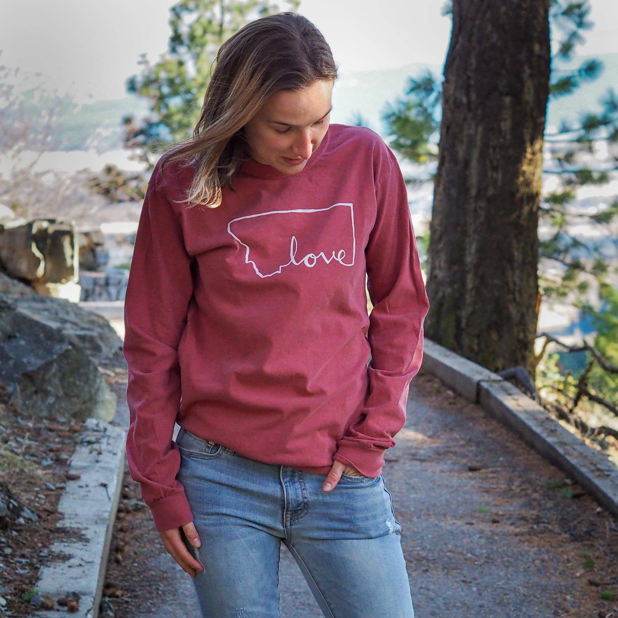 Script Love Longsleeve - MONTANA SHIRT CO.