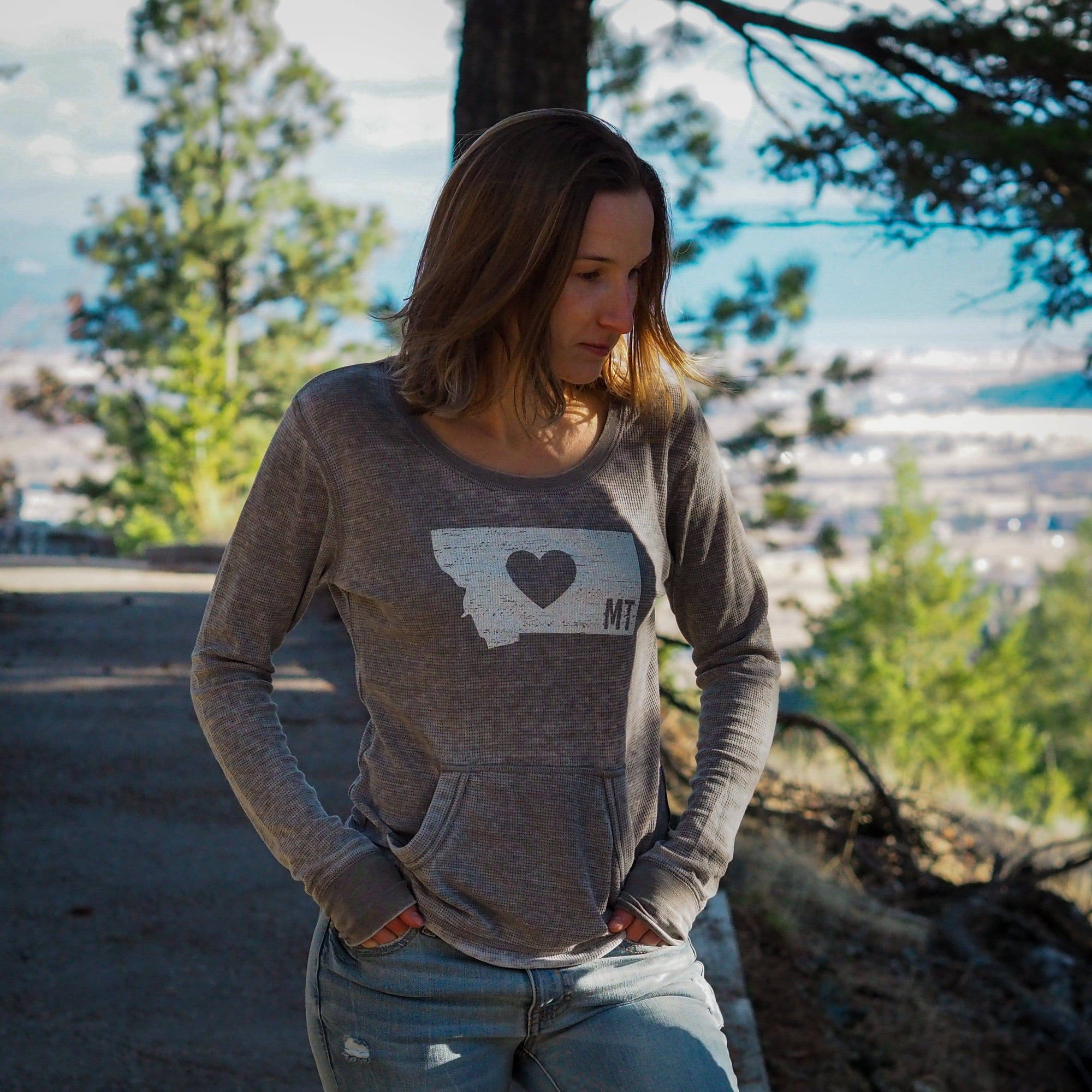 Classic Heart Thermal - MONTANA SHIRT CO.