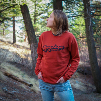 Retro Montana Crewneck Sweatshirt - MONTANA SHIRT CO.