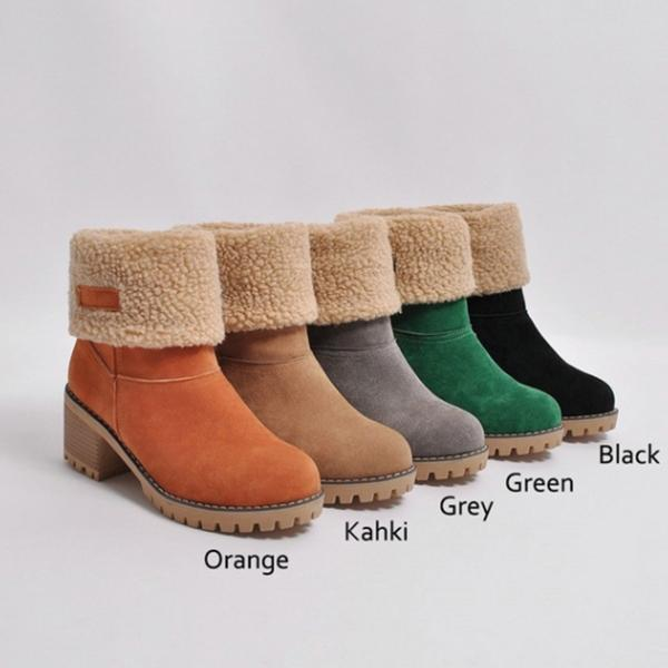 Flamechill Winter Shoes Fur Warm Snow Boot