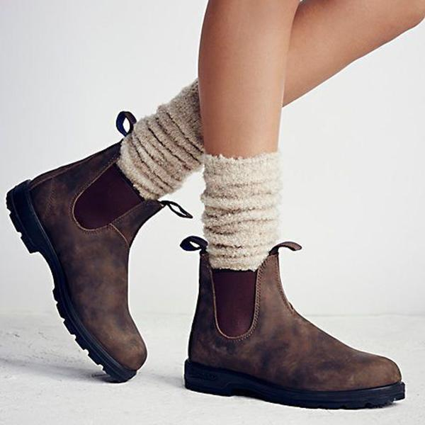 Flamechill Women Classical Vintage Boot