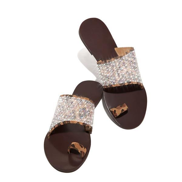 Flamechill Haute Heat - Leopard Slippers