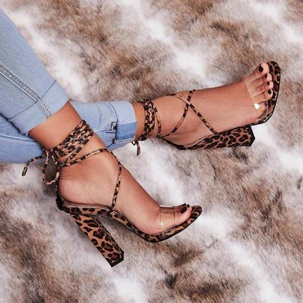 Flamechill Fashion Stylish  Ankle Strap Sandals