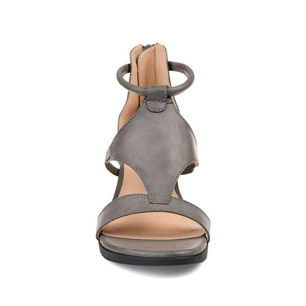 Flamechill Women Casual Daily Wedge Sandals