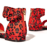 Flamechill Stylish Casual Open Toe Bag Heel Sandals