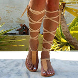 Flamechill T-strap Ancient Greek Sandals