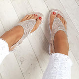 Flamechill Karley Embellished Summer Sandals