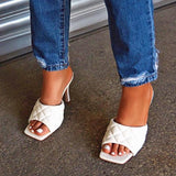 Flamechill Sexy Slip-On Flip Flop Rubber Heels