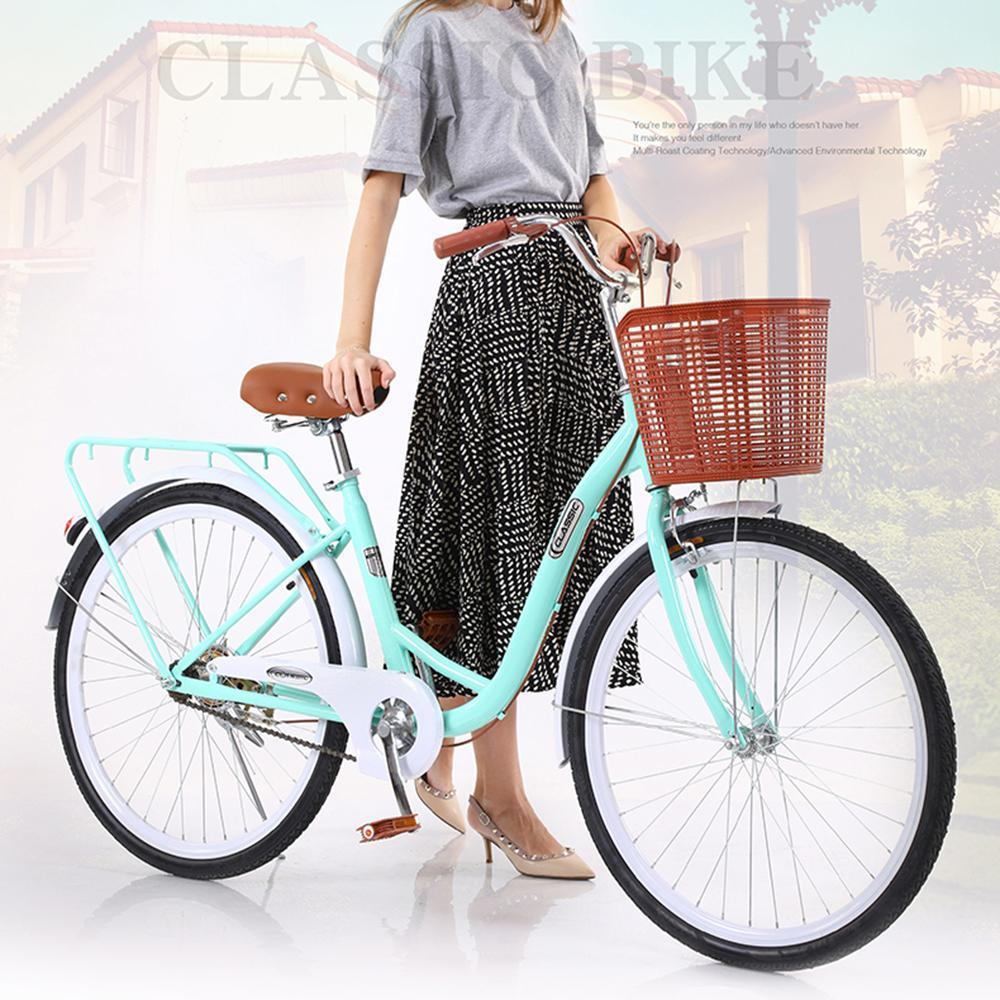 24-26 Inches Bicycle Women Adult Light Ordinary Adult Lady Commuter Bike