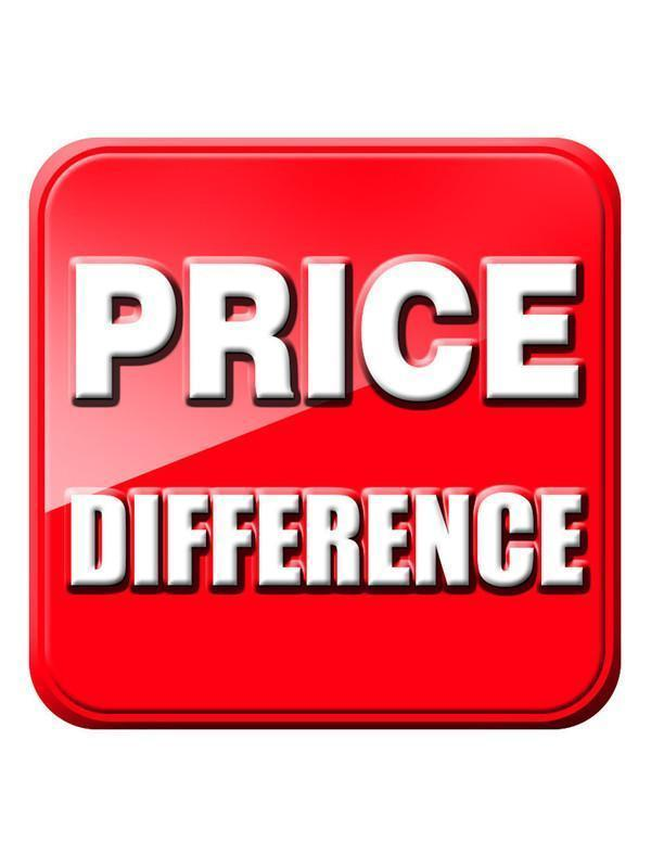 Price Difference Adjustment