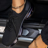 Flamechill Woven Air Cushion Sneakers