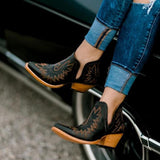 Flamechill Women Vintge Ankle Boots
