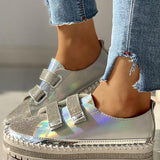Flamechill Studded Insert Sequins Sneakers
