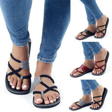 Flamechill Oceanside Rope Flats Sandals