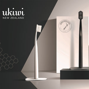 Wide Ultra Clean Magnetic Toothbrush - Black & White Set