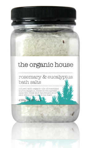 Rosemary & Eucalyptus Bath Salt