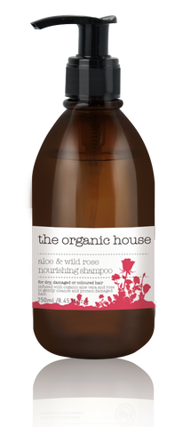 Aloe & Wild Rose Nourishing Shampoo 250ml