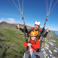 Paragliding tour in vik
