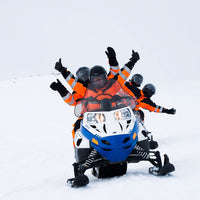 Snowmobile tour Myrdalsjokull
