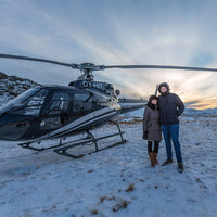 happy people in a Geothermal helicopter tour Iceland