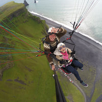 paragliding tour in Iceland